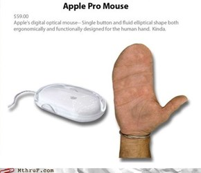 Have you been genetically engineered to have mitten hands? This is the mouse for you!
