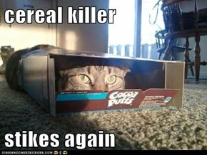 cereal killer  stikes again