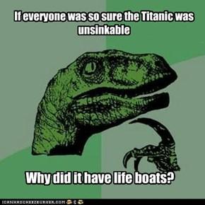 Philosoraptor: Man Overboard