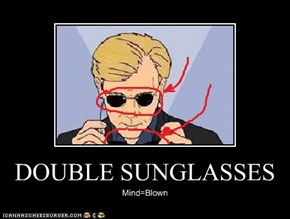 DOUBLE SUNGLASSES