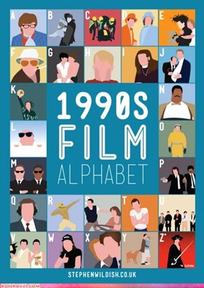 1990's Film Alphabet