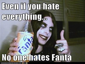 Fanta: Now an Anti-Depressant!