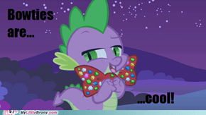 Bowtie + Dragon = Supreme Awesome-ness-ness