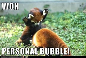 WOH  PERSONAL BUBBLE!