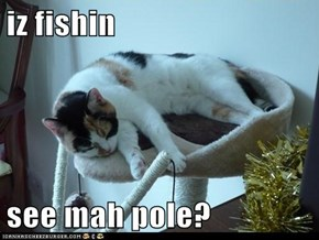 iz fishin  see mah pole?