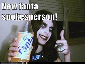 New fanta spokesperson!