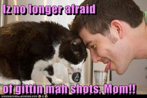 Iz no longer afraid