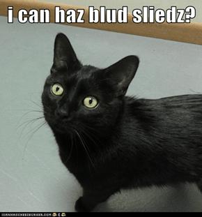 i can haz blud sliedz?