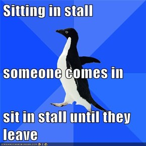 Socially Awkward Penguin: I Do This Constantly