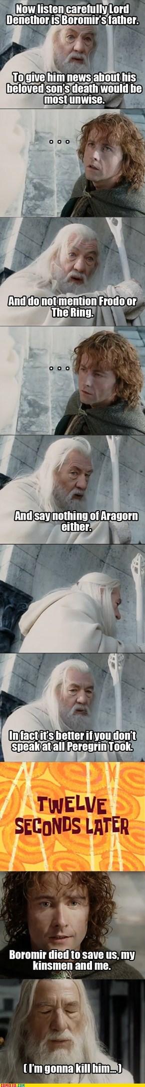 U Mad Gandalf?