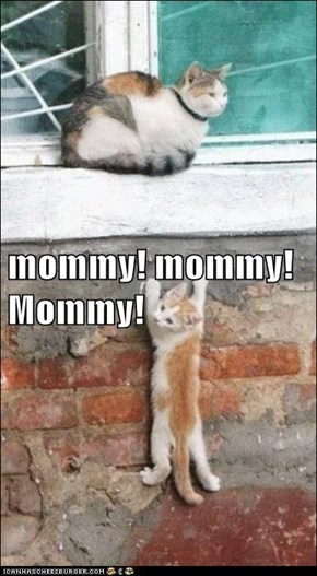 mommy! mommy! Mommy!