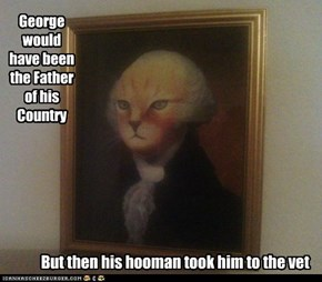 George would have been