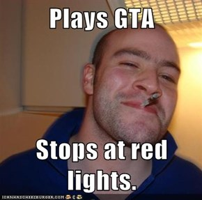 Good Guy Greg: GTA Took Him 700 Hours To Complete
