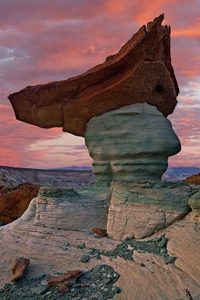 Pirate Rock formation, just outside Page, Arizona