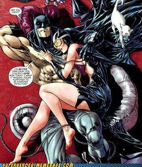 The Question Is, Is Batman Ok?