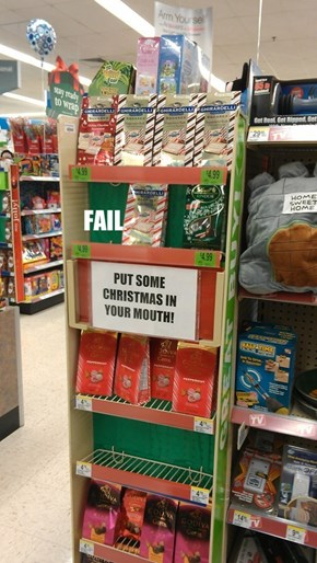 Depends Who Christmas Is FAIL