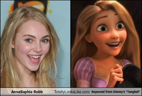 "AnnaSophia Robb Totally Looks Like Rapunzel from Disney's ""Tangled"""