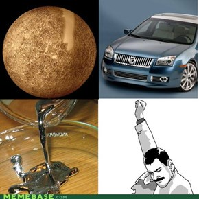 a planet, a car, an element, and one amazing singer