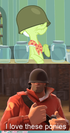 The Soldier is a brony