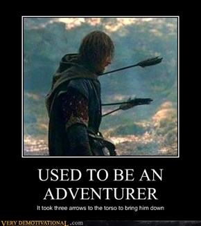 USED TO BE AN ADVENTURER