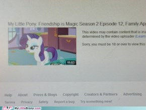You have defamed MLP. Prepare to die.