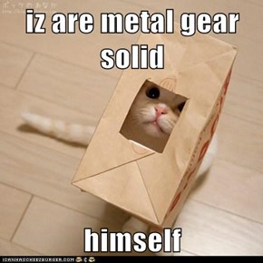 iz are metal gear solid  himself