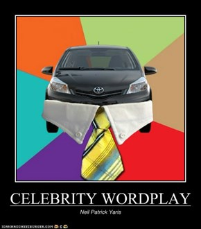 CELEBRITY WORDPLAY
