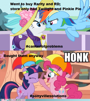 Two ponies are still better than none