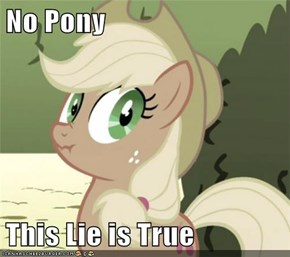 No Pony  This Lie is True
