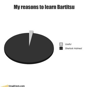 My reasons to learn Bartitsu