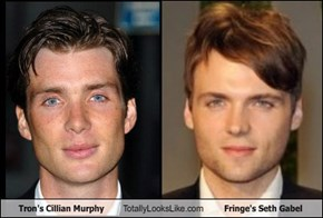 Tron's Cillian Murphy Totally Looks Like Fringe's Seth Gabel