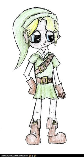 Link looks good as a chibi