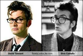 David Tennant Totally Looks Like Elvis Costello
