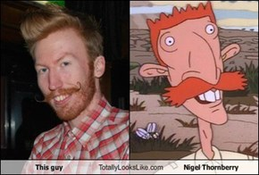 This Guy Totally Looks Like Nigel Thornberry