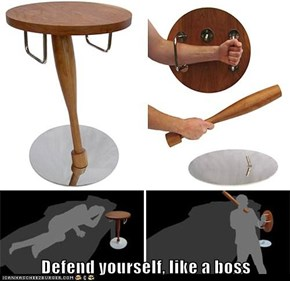 Defend yourself, like a boss