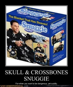 SKULL & CROSSBONES SNUGGIE