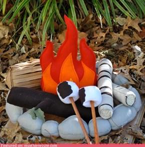 Warm, Cozy Fire