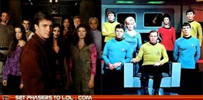 Battle of the Cancelled: Firefly Vs. Star Trek