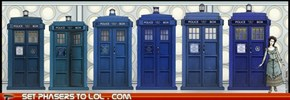 Every Incarnation of the TARDIS