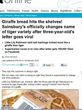Completely Relevant News: Bread-WINner
