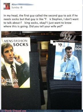 What Your Socks Say About You