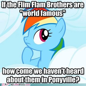 Gullible Ponies