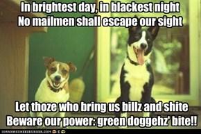 Green Doggeh Oath