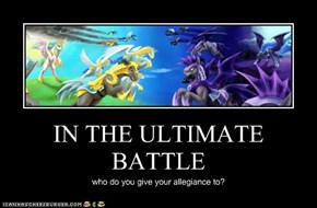 IN THE ULTIMATE BATTLE