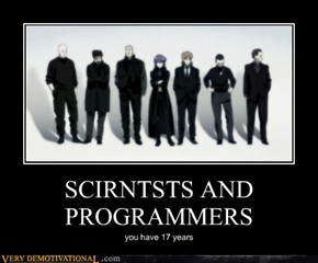 SCIRNTSTS AND PROGRAMMERS