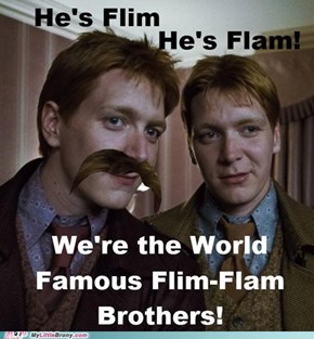 The Hogwarts-Famous Weasley Brothers