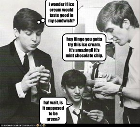 yes Ringo it is, no Paul it wouldn't