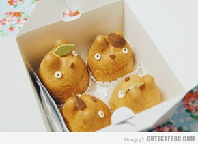 totoro cream puffs!