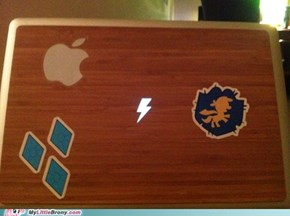 Now it's a REAL Laptop