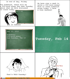 Trolled by the Teacher